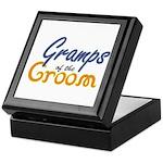 Gramps of the Groom Keepsake Box