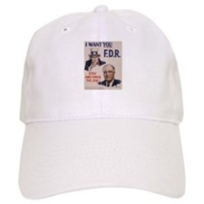 I Want FDR Baseball Cap