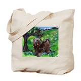 TIBETAN TERRIER Summer Season Tote Bag