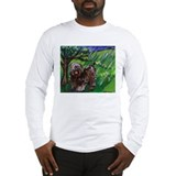 Tibetan Terrier Spring Season Long Sleeve T-Shirt