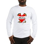 Autism Advocate Tattoo Heart Long Sleeve T-Shirt