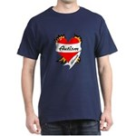 Autism Advocate Tattoo Heart Dark T-Shirt