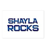shayla rocks Postcards (Package of 8)