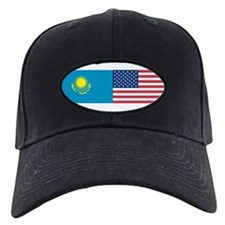 Kazakh and American Baseball Hat