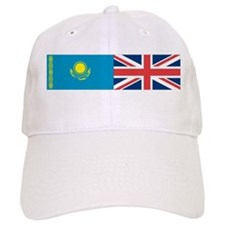Kazakh and UK Baseball Cap