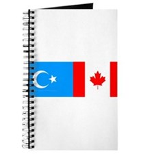 Uyghur and Canadian Flag Journal