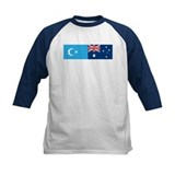 Uyghur and Australian Flag Tee