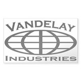 Vandelay Industries Rectangle Decal
