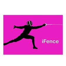 iFence Pink - Postcards (Package of 8)