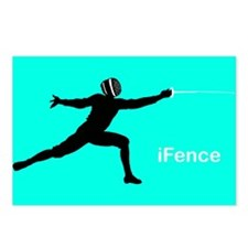iFence Blue - Postcards (Package of 8)