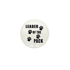 Leader of the Pack Mini Button (10 pack)