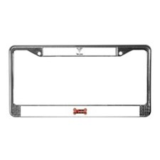 This Breed Rocks BULLDOG License Plate Frame