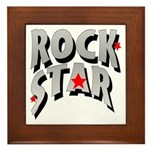 Rock Star Framed Tile