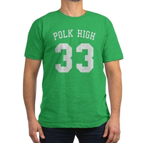 Polk High 33 Mens Fitted Dark T-Shirt