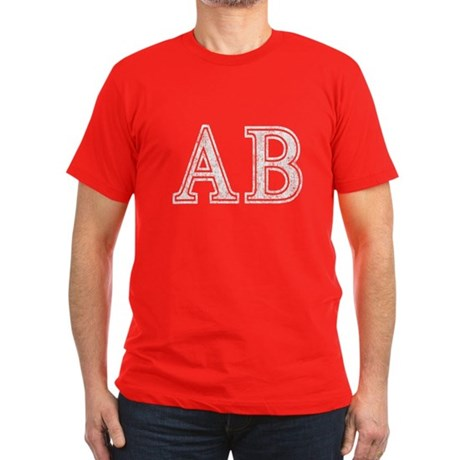 Alpha Beta Mens Fitted Dark T-Shirt