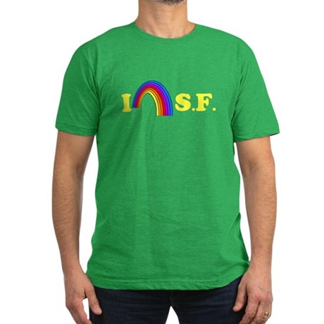 I Love [Heart] San Francisco Mens Fitted T-Shirt