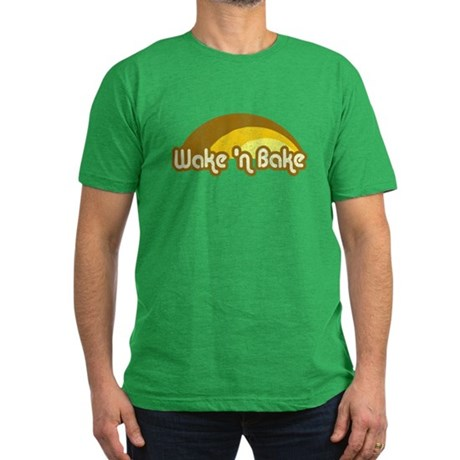 Wake 'n Bake Mens Fitted Dark T-Shirt