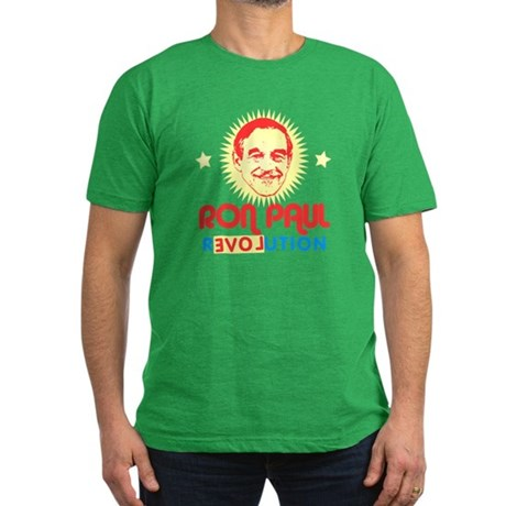 Ron Paul 2012 Mens Fitted Dark T-Shirt