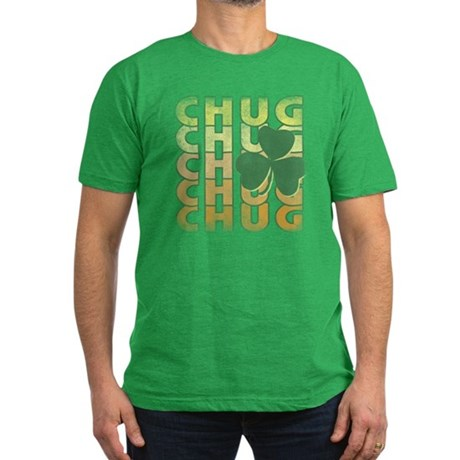 Irish Chug Mens Fitted Dark T-Shirt