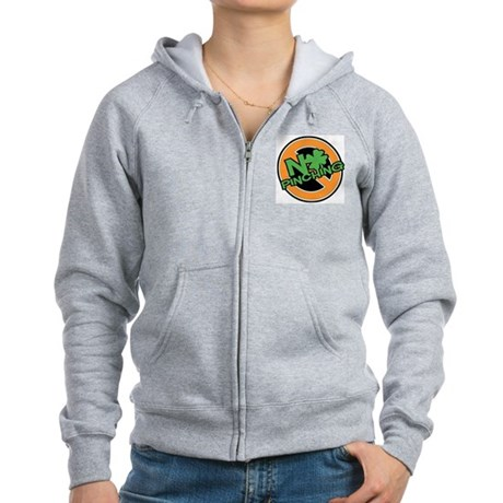 No Pinching Shamrock Women's Zip Hoodie