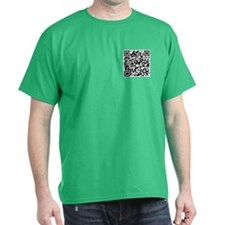 QR code If you can read this you're a geek T-Shirt