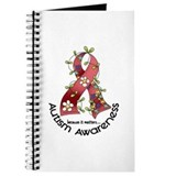 Flower Ribbon AUTISM Journal