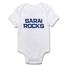 sarai rocks Infant Bodysuit