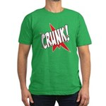 CRUNK! Men's Fitted T-Shirt (dark)