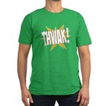 THWAK! Men's Fitted T-Shirt (dark)