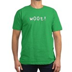 w00t! Men's Fitted T-Shirt (dark)