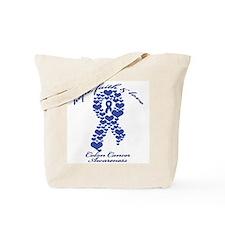 Colon Cancer Awareness Tote Bag