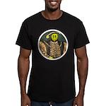 Smiley VIII Men's Fitted T-Shirt (dark)