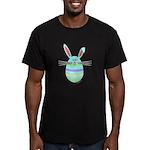 Easter Egg Bunny Men's Fitted T-Shirt (dark)