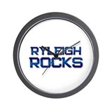 ryleigh rocks Wall Clock