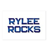 rylee rocks Postcards (Package of 8)