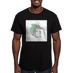 Goofy Armadillo Men's Fitted T-Shirt (dark)