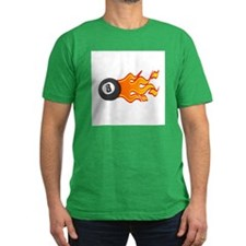 Eight Ball on Fire T
