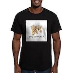 Got Cooties? Men's Fitted T-Shirt (dark)