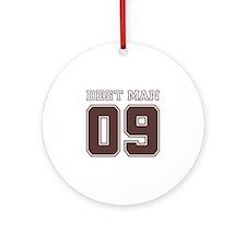 Uniform Best Man 09 Ornament (Round)