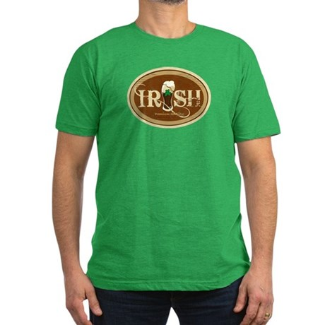 Stout Irish Beer Men's Fitted T-Shirt (dark)