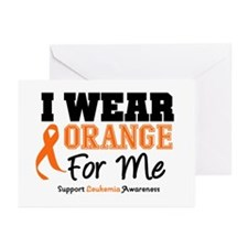 I Wear Orange For Me Greeting Cards (Pk of 20)