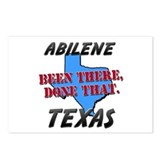 abilene texas - been there, done that Postcards (P