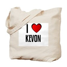 I LOVE KEVON Tote Bag