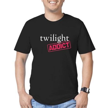 Twilight Addict Men's Fitted T-Shirt (dark)