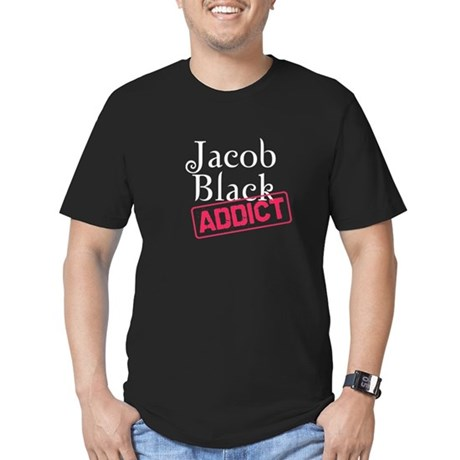 Jacob Black Addict Men's Fitted T-Shirt (dark)
