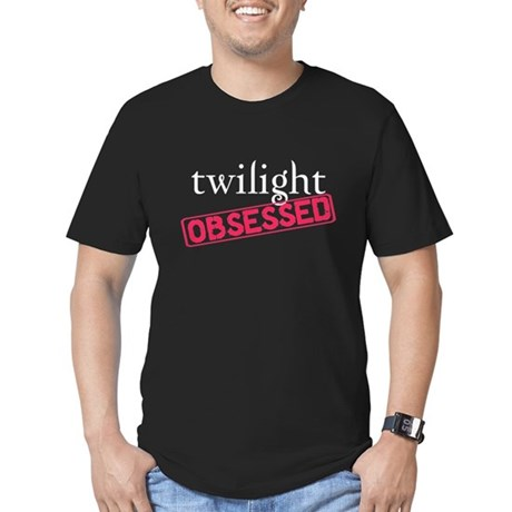 Twilight Obsessed Men's Fitted T-Shirt (dark)