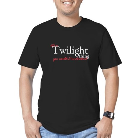 Twilight Thing Men's Fitted T-Shirt (dark)