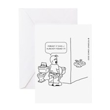 Cute Potty training Greeting Card
