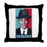 SKABAMA Throw Pillow