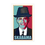 SKABAMA Rectangle Decal